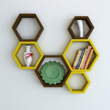 Hexagon-Yellow