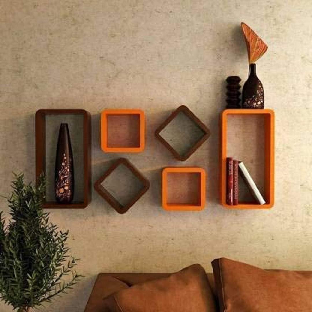 Orange-shelves