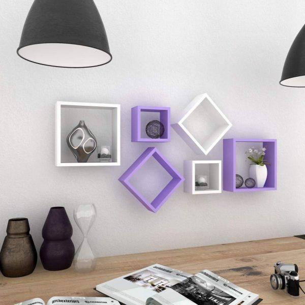 Purple-wall-shelf