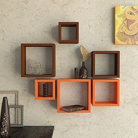 Square Wall Shelves
