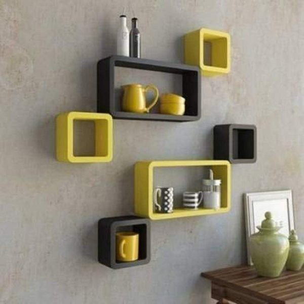 Yellow-Black-Shelf