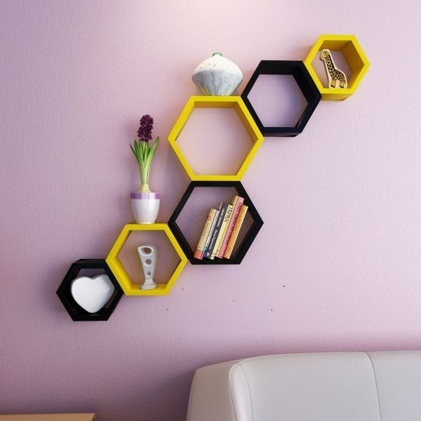 Yellow-Black-Shelves