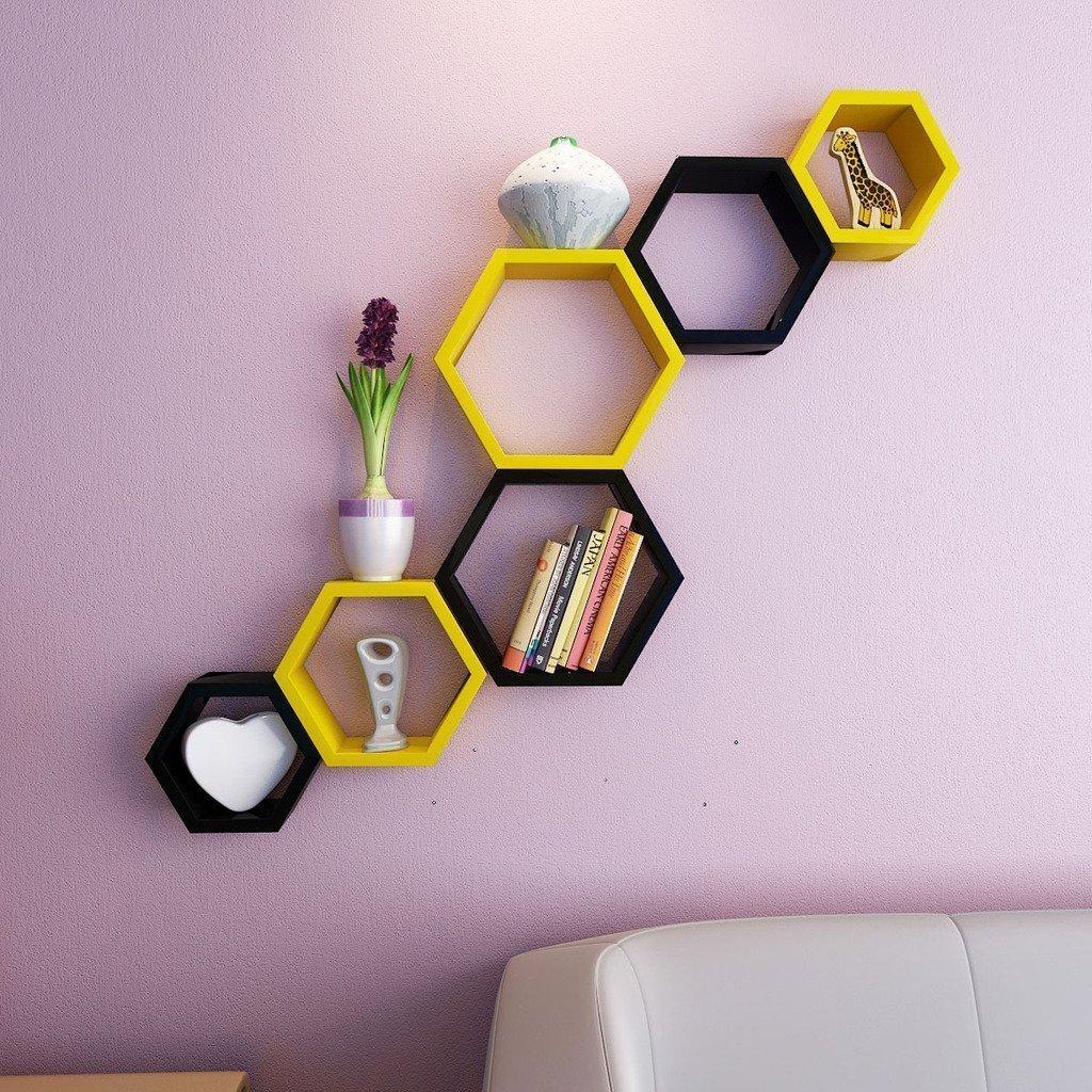 Yellow-Black-Shelves