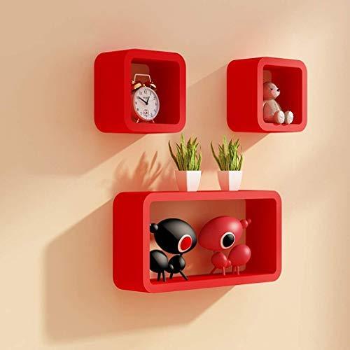 red-wall-shelf