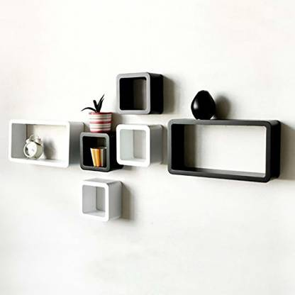 Black-white-shelf